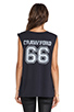 Image 4 of Lovers + Friends for REVOLVE Crawford Muscle Tee in Vintage Black
