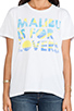 Image 4 of Lovers + Friends Malibu Is For Lovers Graphic Tee in Malibu