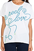 Image 4 of Lovers + Friends Graphic Tee in Reel Love