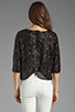Image 2 of Lovers + Friends Intuition Blouse in Black Sequin