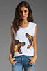 Image 1 of Lovers + Friends for REVOLVE Doberman Tank in White
