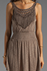 Image 5 of L*SPACE Spirit Mini Dress in Taupe