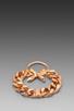 Image 3 of Luv AJ The Crystal Cross Bracelet in Shiny Rose Gold