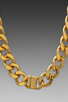 Image 4 of Luv AJ The ID Necklace in 24 Kt Gold