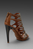 Image 4 of Luxury Rebel West Heel in Latte/Natural Buff