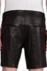 Image 5 of Mackage Manuel Leather Short in Black