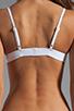 Image 2 of MINIMALE ANIMALE Pay Back Bikini in Blanco with Print with Blanco Mesh Overlay