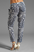 Image 3 of Mara Hoffman Printed Slouch Pant in Patchwork
