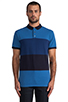 Image 1 of Marc by Marc Jacobs Newport Polo in Delft Multi
