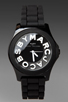 Image 1 of Marc by Marc Jacobs Sloane Watch in Black