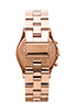 Image 3 of Marc by Marc Jacobs Henry Chrono Watch in Rose Gold