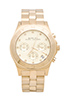 Image 1 of Marc by Marc Jacobs Blade Chrono Watch in Gold
