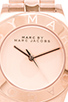 Image 2 of Marc by Marc Jacobs Blade Watch in Rose Gold