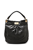Image 1 of Marc by Marc Jacobs Classic Q Hillier Hobo in Black