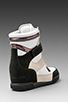 Image 4 of Marc by Marc Jacobs Sneaker Wedge in Black/Black/White/Oatmeal