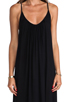 Image 4 of MIKOH Swimwear Biarritz Low Back Maxi Dress in Night