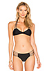 Image 1 of MIKOH Banyans Skinny String Racerback Top in Night