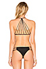 Image 3 of MIKOH Banyans Skinny String Racerback Top in Night