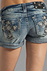 Image 6 of Miss Me Jeans Short Shorts in LT 41