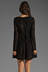 Image 4 of MINKPINK Lost Innocence Long Sleeve Lace Dress in Black