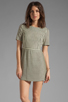 Image 1 of MINKPINK Complete Me Striped Dress in Off White