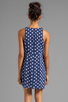 Image 4 of MINKPINK Forget Me Not Dress in Navy