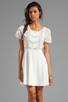 Image 1 of MINKPINK Zepher Dress in White