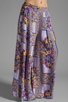 Image 1 of MINKPINK Distant Traveller Palazzo Pant in Multi