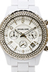 Image 2 of Michael Kors Madison Watch in White