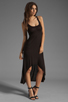 Image 2 of Michael Lauren Mac Asymmetrical Dress in Black