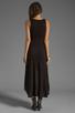 Image 4 of Michael Lauren Mac Asymmetrical Dress in Black