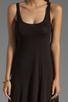 Image 5 of Michael Lauren Mac Asymmetrical Dress in Black