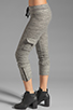 Image 2 of Michael Lauren Warren Cargo Sweatpant in Stone