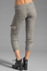 Image 3 of Michael Lauren Warren Cargo Sweatpant in Stone