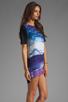 Image 3 of Motel Mollyanna Dress in New World Purple