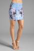 Image 1 of Motel Kimi Skirt in Cosmic Boogie Pale