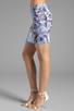 Image 2 of Motel Kimi Skirt in Cosmic Boogie Pale
