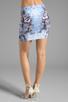 Image 3 of Motel Kimi Skirt in Cosmic Boogie Pale