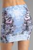 Image 6 of Motel Kimi Skirt in Cosmic Boogie Pale