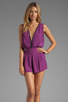 Image 1 of Motel Janey Jumpsuit in Purple