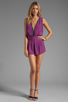 Image 2 of Motel Janey Jumpsuit in Purple