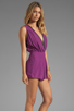 Image 3 of Motel Janey Jumpsuit in Purple
