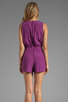 Image 4 of Motel Janey Jumpsuit in Purple