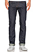 Image 2 of Naked & Famous Denim Skinny Guy 12oz. in Power Stretch Indigo