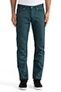 Image 1 of Naked & Famous Denim Weird Guy Petrol Selvedge Chino 12 oz. in Petrol Blue