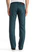 Image 3 of Naked & Famous Denim Weird Guy Petrol Selvedge Chino 12 oz. in Petrol Blue