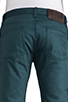 Image 5 of Naked & Famous Denim Weird Guy Petrol Selvedge Chino 12 oz. in Petrol Blue