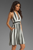 Image 3 of NEUW Daphne Dress in Black/White Stripes
