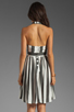 Image 4 of NEUW Daphne Dress in Black/White Stripes
