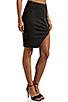 Image 2 of NICHOLAS Ponti Zip Wrap Skirt in Black